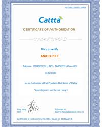 Anico Caltta certification